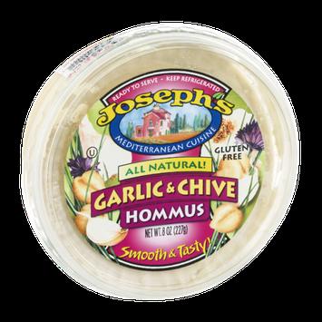 Joseph's Hommus Garlic & Chive