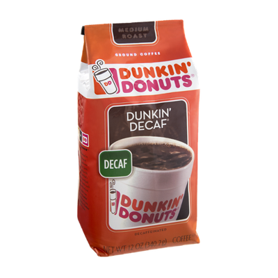 Dunkin' Donuts Dunkin' Decaf Decaffeinated Medium Roast Ground Coffee