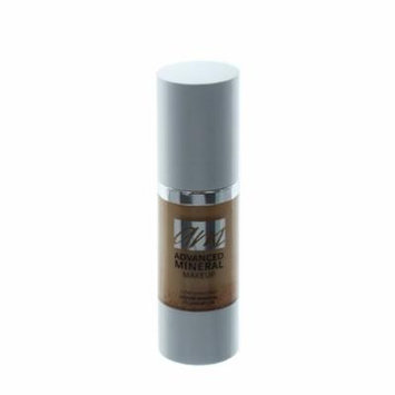 Advanced Mineral Makeup Liquid Foundation, Caramel, 1 Ounce