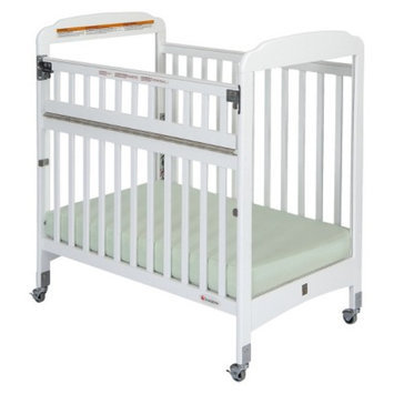 Crib with Mattress - White by Foundations