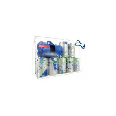 Best Pet Supplies SDB-2401 Blue Dog on Silver - 16Rolls-Bag
