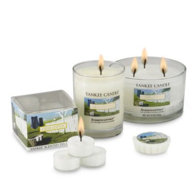 Yankee CandleA HousewarmerA Clean CottonA Tea Light Accent Candles (Box of 12)