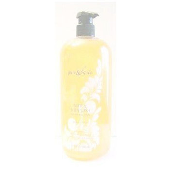 Pure & Basic Crème Brulee Exfoliating Body Scrub - 32 fl. oz.