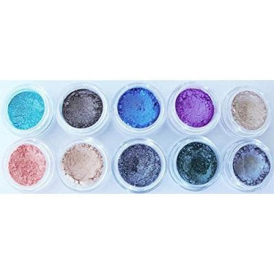 NEW! Glamour My Eyes Mineral Eyeshadow Set for Fabulous Brown Eyes