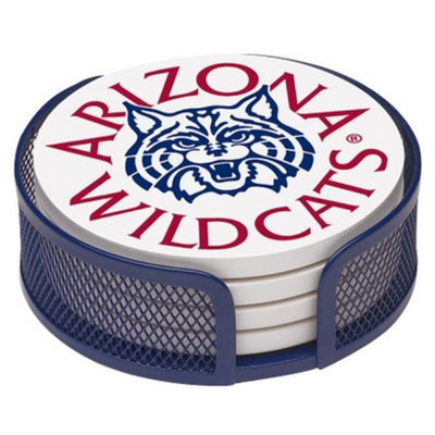 Thirstystone University of Arizona 4-pc. Coaster Set with Holder