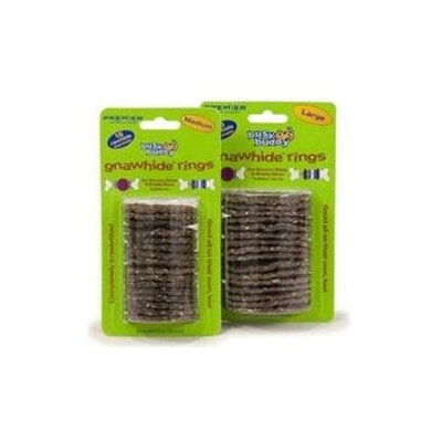 Premier Pet Products - Busy Buddy Cornstarch Rings Large-16 Pack
