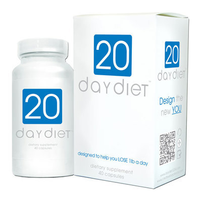 Creative BioScience 20 Day Diet Dietary Supplement Capsules
