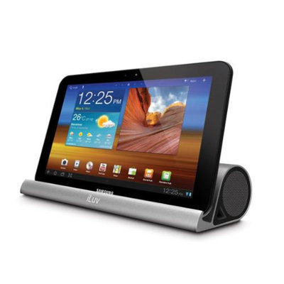 iLuv iSP245 Mo Beats Solid Aluminum Portable Stereo Bluetooth Speaker Stand