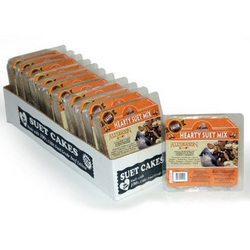 Heath Outdoor Products DD-11 Hearty Suet Mix Cake, Case of 12
