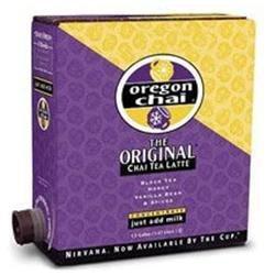 Oregon Chai Tea Concentrate the Original Flavor Food Service 1.5 Gallon
