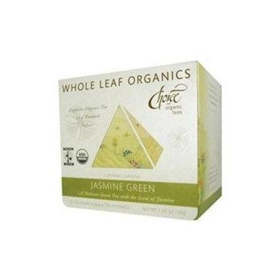 Choice Organic Teas Jasmine Green Tea, - Pack of 6