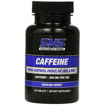 Serious Nutrition Solution Caffeine Tablets, 120 Count