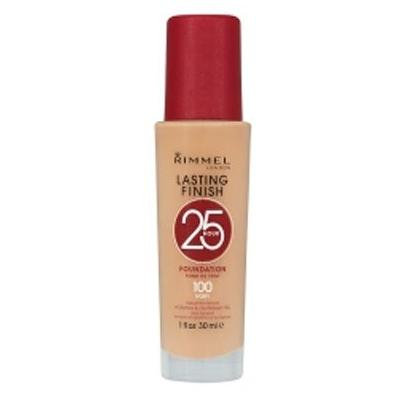 Rimmel Lasting Finish 25 Hour Foundation - 100 Ivory (30ml)