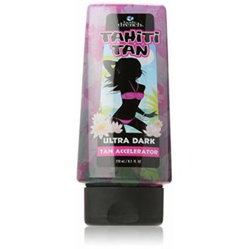 Body Drench Tan Accelerator, Tahiti Tan Ultra Dark, 8.5 Ounce