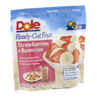 Dole Ready-Cut Fruit Strawberries & Bananas