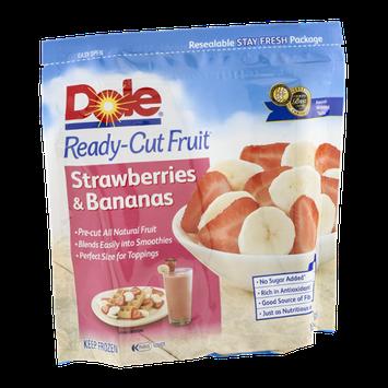 Dole Ready-Cut Fruit Strawberries & Bananas
