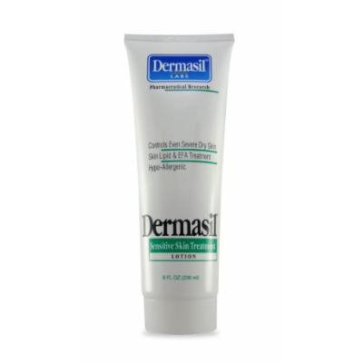 Sensitive Skin Treatment Lotion - Relief From Severe Dry Skin, 8 oz,(Dermasil Labs)