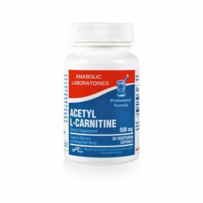 Anabolic Laboratories ACETYL L-CARNITINE 500 MG 30 CAP