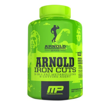 MusclePharm Arnold Schwarzenegger Series Iron Cuts, Capsules