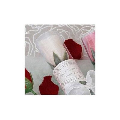 Long-Stemmed Rose Soap - White - kateaspen - 21010-WHITE