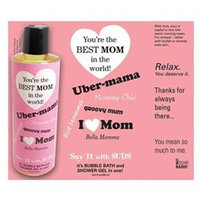 Not Soap Radio Say It with Suds Greeting Message Shower Gel - Mom