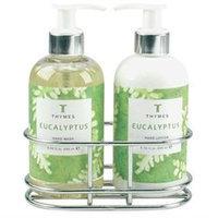 Thymes Eucalyptus - Sink Set With Caddy (8.25 oz each)