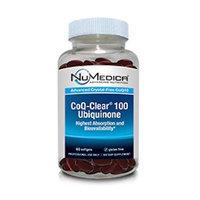 NuMedica - CoQ-Clear 100 Ubiquinone (Citrus) - 60 Softgels