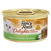 Fancy Feast® Delights With Cheddar Wet Cat Food Classic Chicken & Cheddar Cheese