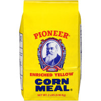 Pioneer Brand Enriched Yellow Corn Meal, 2 lbs