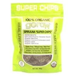 Go Raw Freeland Spirulina Super Chips