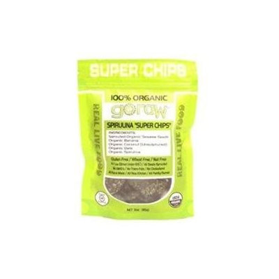 Go Raw Freeland Spirulina Super Chips