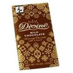 Divine Chocolate Divine Milk Chocolate Bar, 3.5 oz