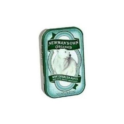 Newman's Own Organics - Wintergreen Mints Roll - 12 Pieces