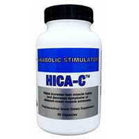 HICA-C - Non-Hormonal Muscle Growth Stimulator Supplement - 60 Capsules