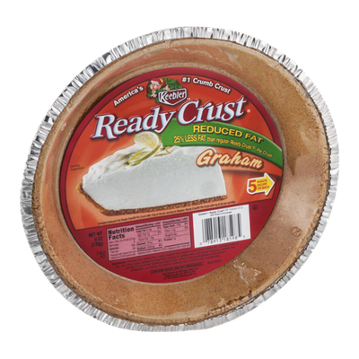 Keebler Ready Crust Reduced Fat Graham Pie Crust