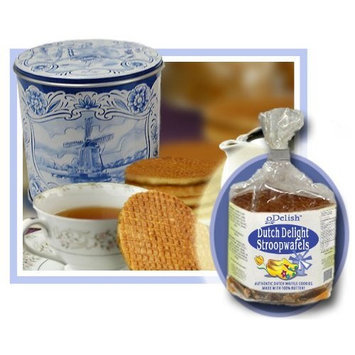 Peters Imports Double Dutch Syrup Waffle Cookies