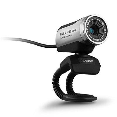 AUSDOM AW615 1080P HD Webcam Built-in Mic