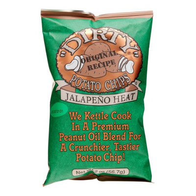 Good Health Dirty Chips Jalapeo Heat, 25 pack of 2 oz. bags.