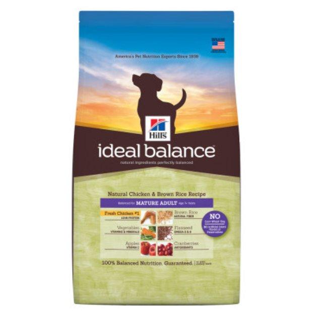 Hill's Ideal Balance Hill'sA Ideal BalanceTM Mature Adult Dog Food