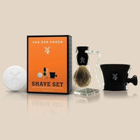 Van Der Hagen Men's Luxury, Shave Set, **BONUS**, set includes TWO full size 3.5oz scented soaps
