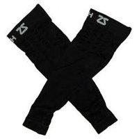 Zensah Mens Compression Arm Sleeves Large/X-Large Black