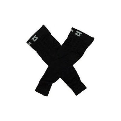 Zensah Mens Compression Arm Sleeves Large/X-Large Black