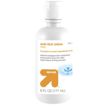 up & up Clear Anti-Itch Lotion - 6 oz.