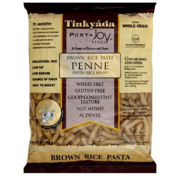 Tinkyada Pasta Joy Ready Penne Brown Rice Pasta, 16 oz, (Pack of 12)