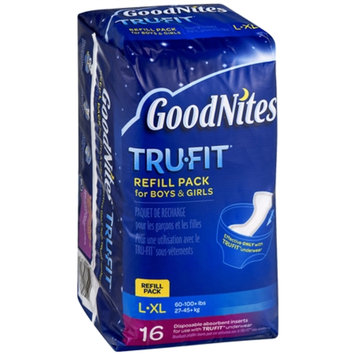 Huggies® GoodNites Tru-Fit Underwear Disposable Inserts Refill Pack