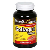 Mason Vitamins Mason Natural Collagen plus Vitamin C, 1480 mg, 120 Capsules