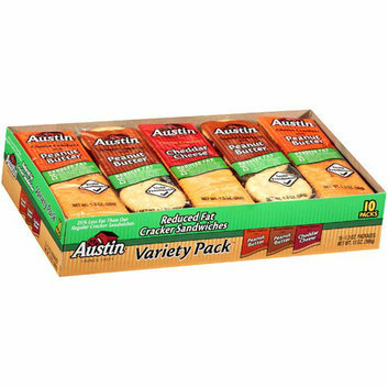 Austin : Reduced Fat Variety Pack Cracker Sandwiches