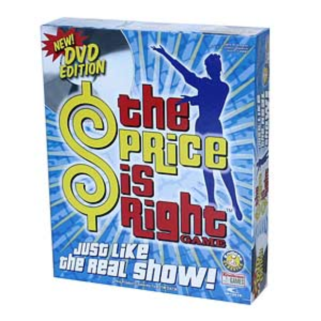 The Price Is Right DVD Game Ages 8+