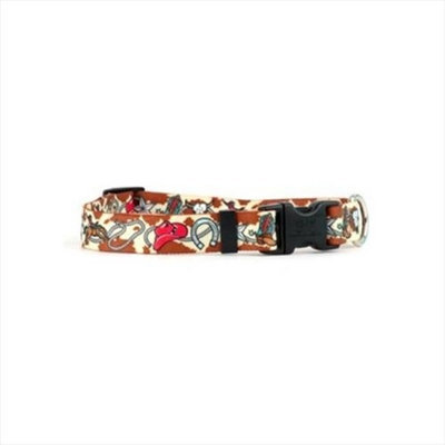 Yellow Dog Design Retro Cowboy Standard Collar