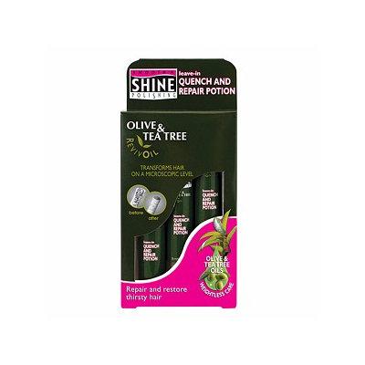 Smooth 'n Shine Polishing Olive & Tea Tree RevivOil Quench & Repair Potion 3 pk Vials